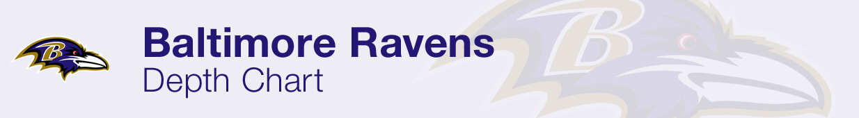 Baltimore Ravens Depth Chart