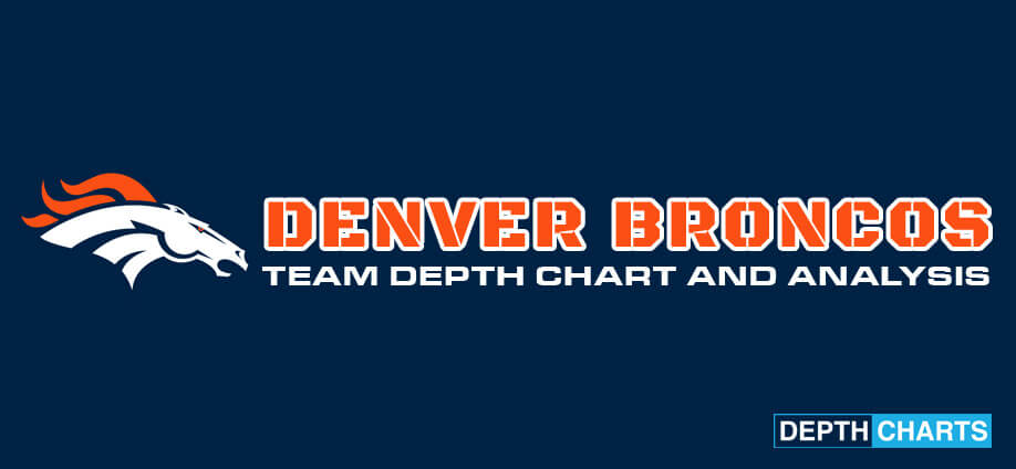 Denver Broncos Schedule 2020.2019 2020 Denver Broncos Depth Chart Live