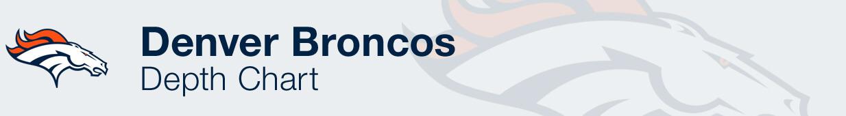 Denver Broncos Depth Chart
