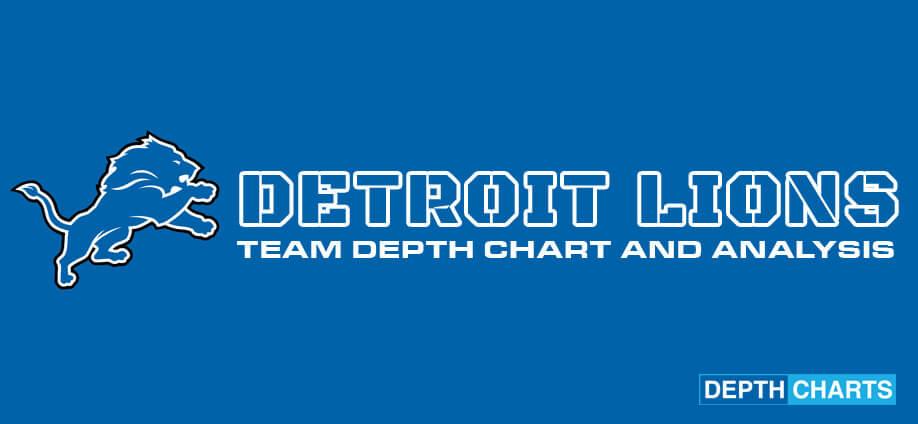 Detroit Lions Depth Chart Ysis
