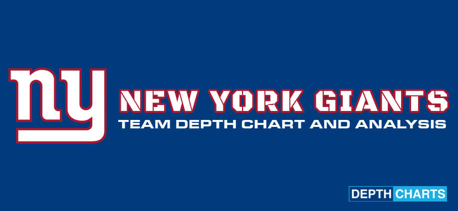 New York Giants Depth Chart Analysis